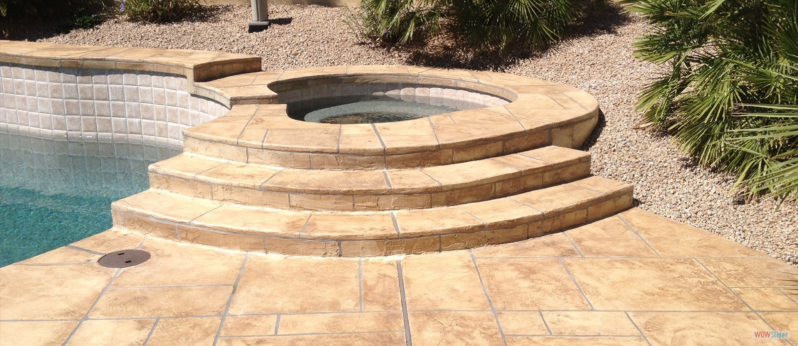 Pool Deck Stairs